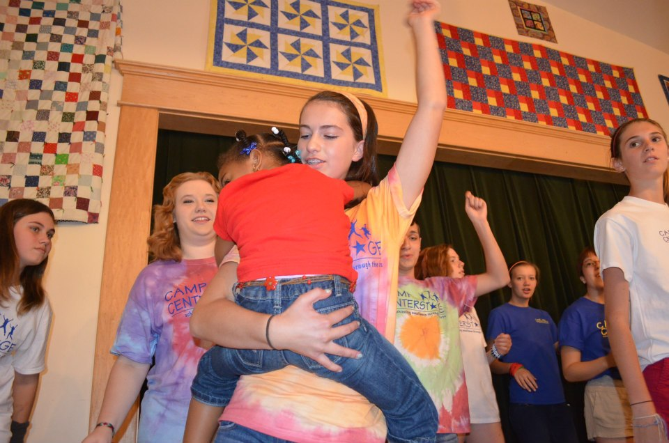 Theatre and working with kids facing terminal illness. (Photo courtesy of Camp CenterStage)