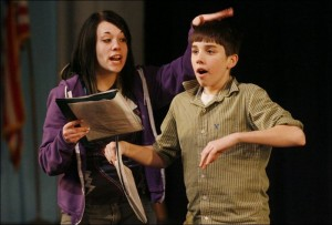 Young actors and older ones can benefit from side coaching.