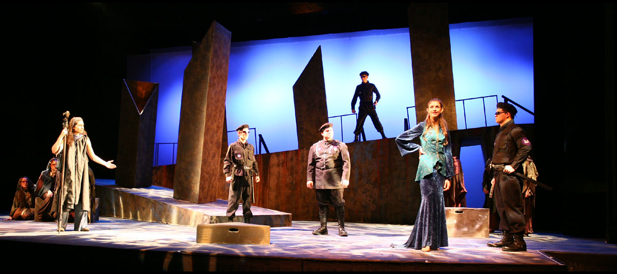 In a play like The Trojan Women, the actors have to intimately understand their character's reality, who they are, and what they want.