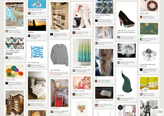 What might a character's Pinterest page look like?