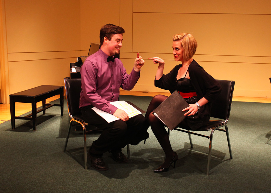 Play readings give actors solid experience in working with new shows.