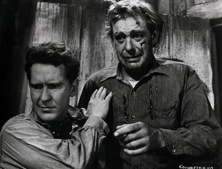 Burgess Meredith and Lon Chaney, Jr. played George and Lennie.