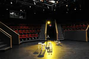Active curiosity can transform the space pictured here into the full blown production seen in the next photo of The Ghost Sonata.