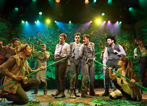 Peter and the Starcatcher started Off-Broadway.