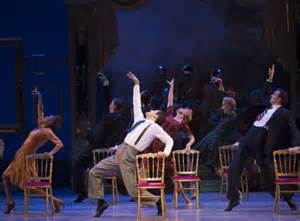 An American in Paris offers audiences an amazing experience partly due to how the staging and design elements work and flow together within the space.