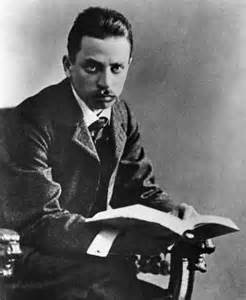 Rilke was a brilliant poet.