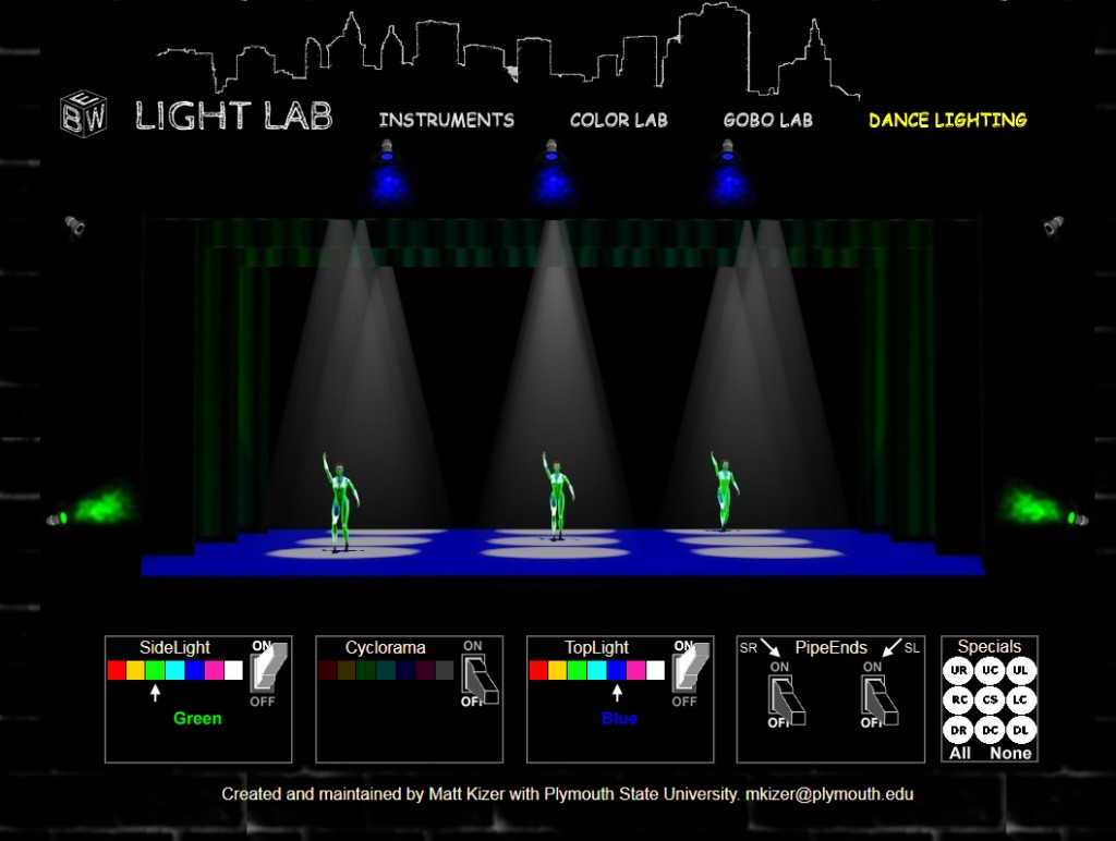 The original lightlab from 2002