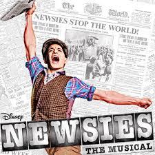 Musical NEWSIES on Broadway